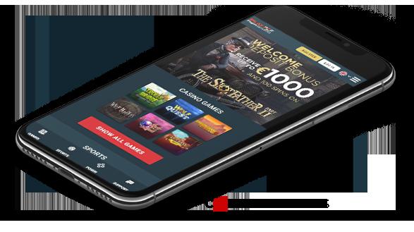 PCF Mobile casino