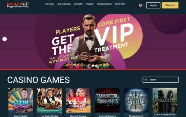 PCF casino-website review