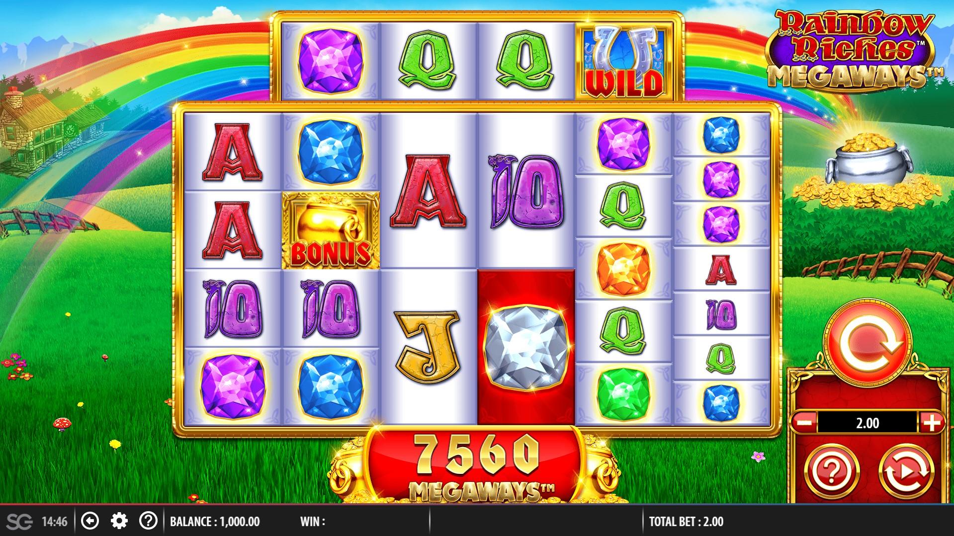 Spiele Rainbow Riches Megaways - Video Slots Online