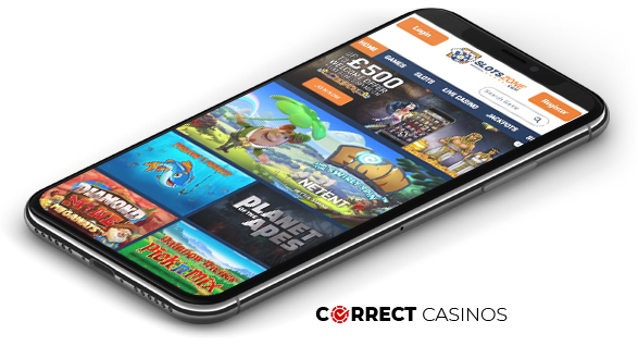 Slotszone Mobile Casino