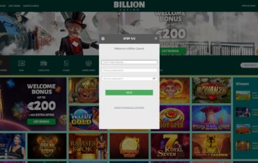 Billion Casino-sign up