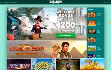 Billion Casino-website review