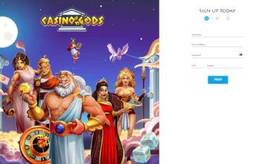 Casino Gods-sign up