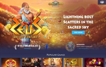Casino Gods-website review