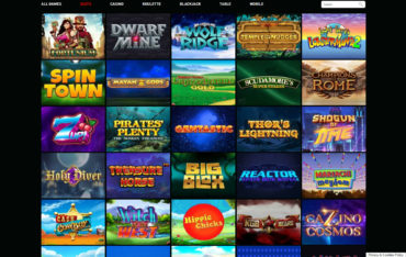 Fruity Wins Casino-games selection