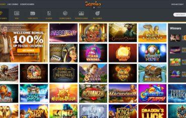 Jambo Casino-games selection