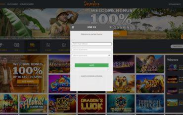 Jambo Casino-sign up