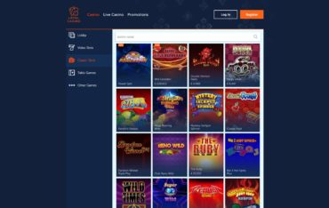 Loyal Casino-games selection