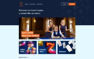 Loyal Casino-website review