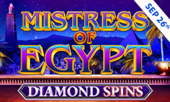 Mistress of Egypt Diamond Spins slot