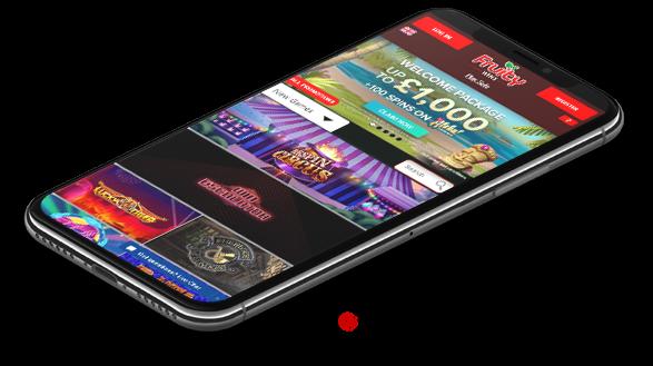 Fruity Casino Mobile version