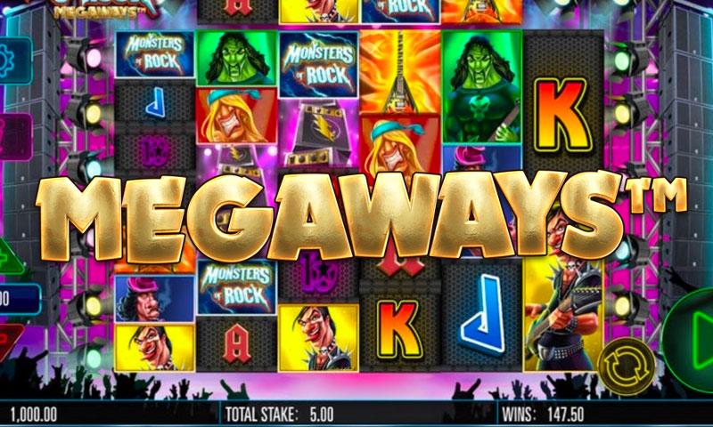 Monsters of Rock Megaways slot
