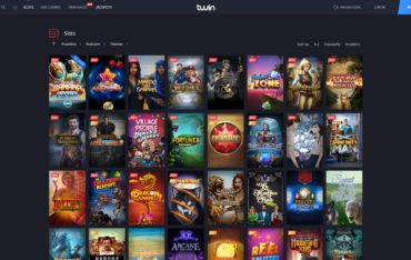 Twin Casino-games selection