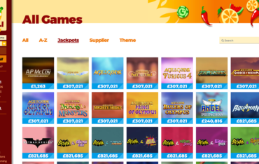 chilli-casino-slots-selection