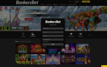 BonkersBet–sign up