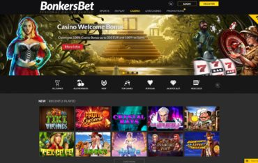 BonkersBet-website review