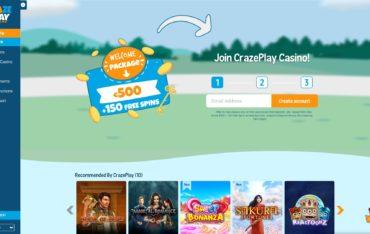 Craze Play-website review