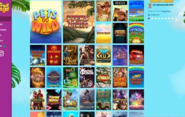 Fruit Kings-games selection