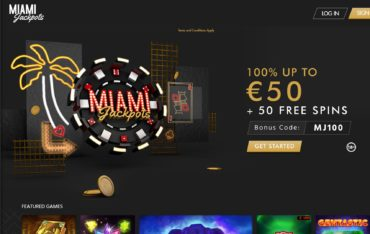 Miami Jackpots-website review