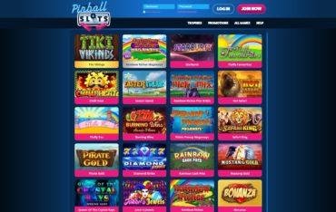 Pinball Slots-games selection