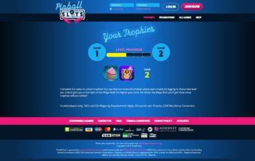 Pinball Slots-trophies