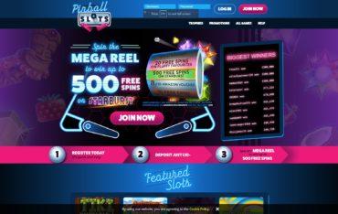 Pinball Slots-website review