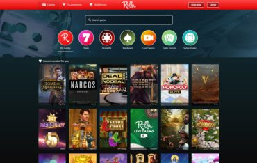 Rolla Casino-games-selection