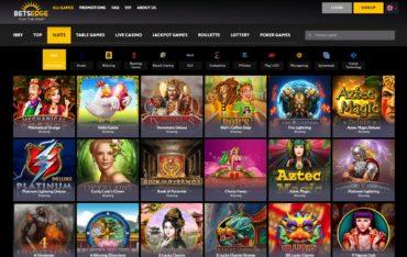 BetsEdge-games-selection