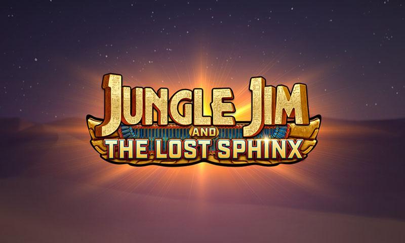 Jungle Jim and the Lost Sphinx slot demo