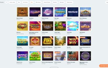 Simple Casino-games-selection