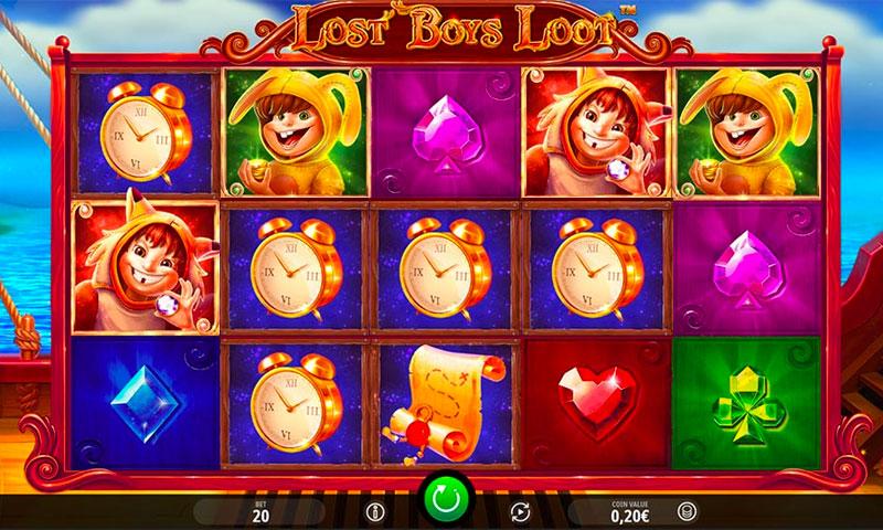 Spiele Lost Boys Loot - Video Slots Online