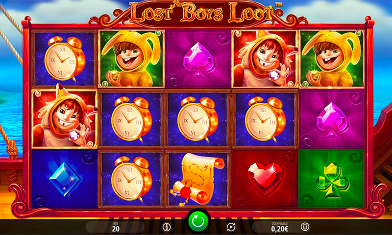 lost bous loot slot