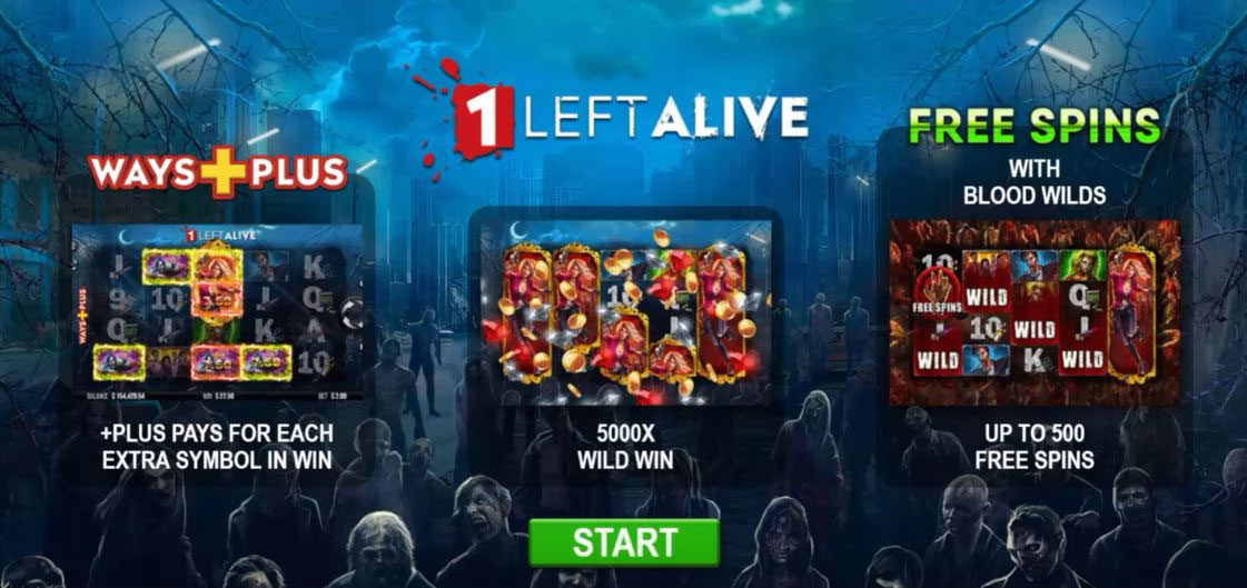 1 Left Alive Slot Free Demo Play Or For Real Money Correct Casinos
