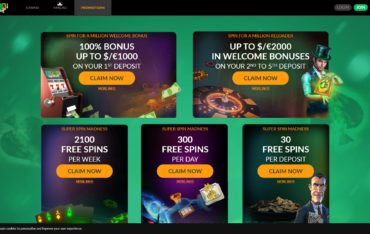 Spin Million-promotions
