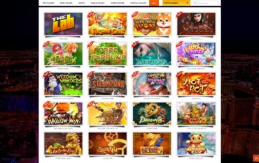 Spinatra-games selection