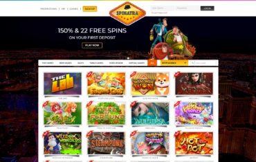 Spinatra-website review