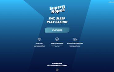 Super Nopea-website review
