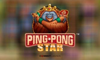 ping pong star slot