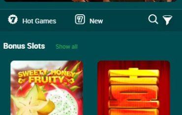 22Bet Casino-mobile