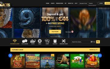 44 Aces-website review