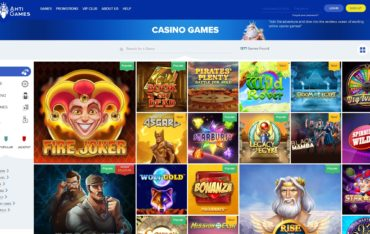 Ahti Games-games selection