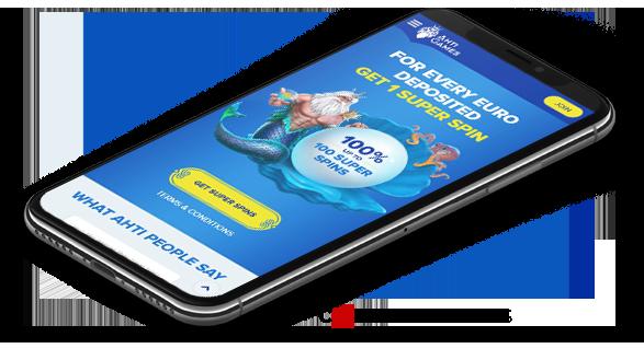 Ahti Games mobile casino