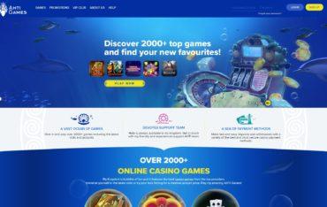 Ahti Games-website review