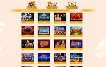 All CashBack Casino-games selection