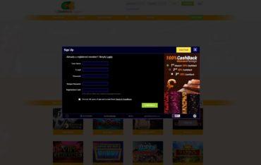 All CashBack Casino-sign up