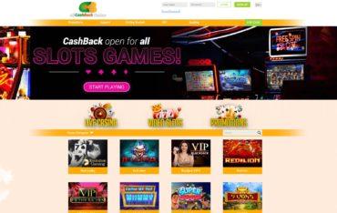 All CashBack Casino-website review