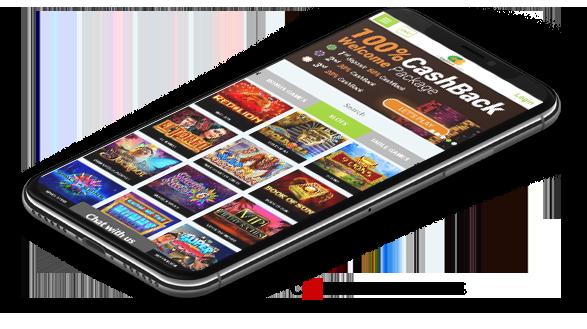 All Cashback casino mobile