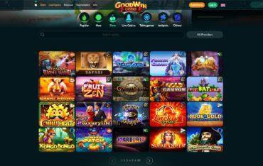 Goodwin Casino-games selection