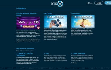Ice 36-promotions
