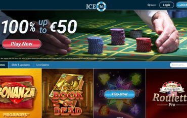 Ice 36-website review